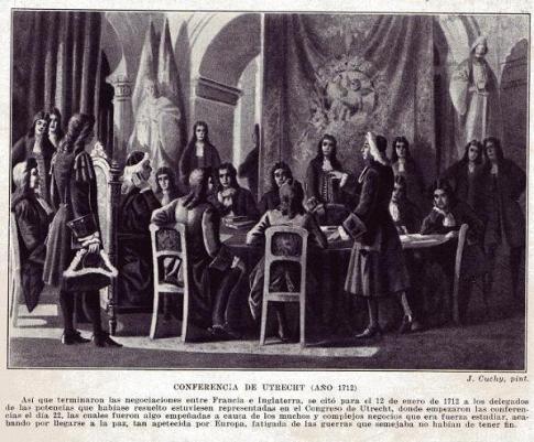 Conferencia de Utrecht - 1712
